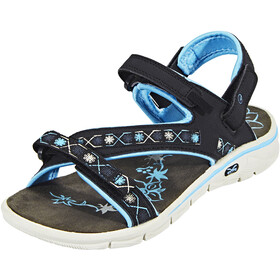 Hi-Tec Soul-Riderz Life Strap Sandals Women Black/Forget Me Not